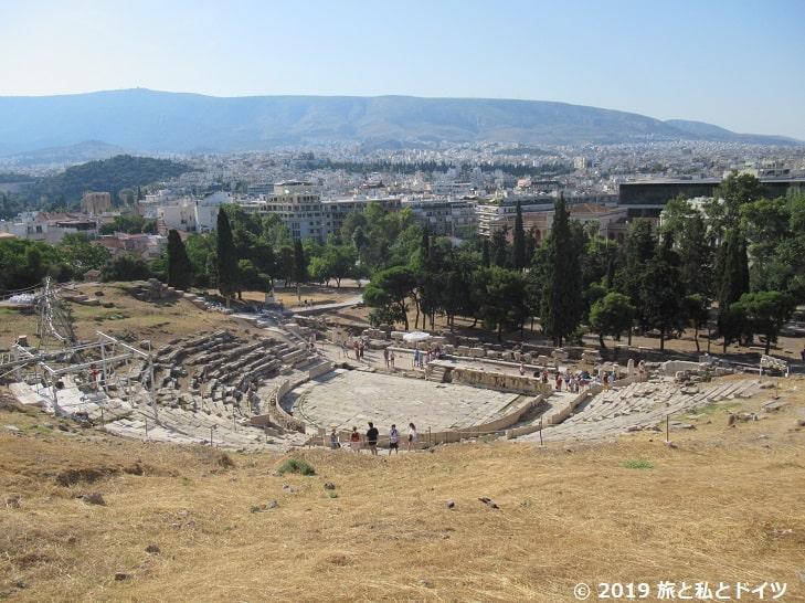 ディオニソス劇場の遺跡