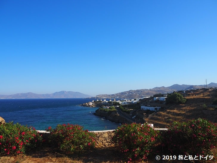 Villa Margaritaからの眺望