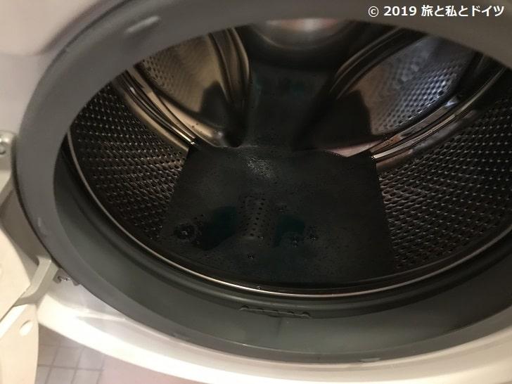 洗濯機本体の掃除