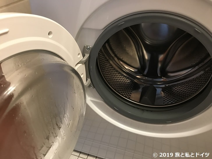 洗濯機のドア