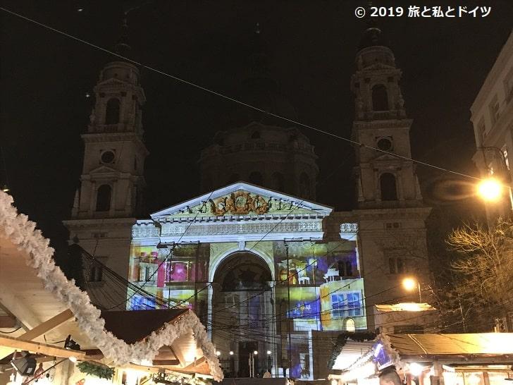 ブダペストのクリスマスマーケット
