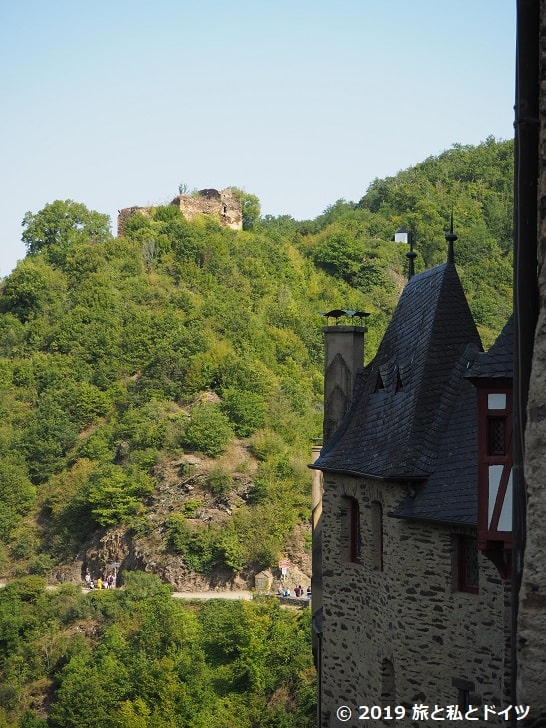 エルツ城からの眺め
