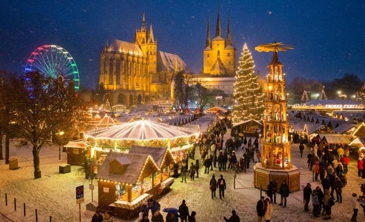 エアフルトのクリスマスマーケット