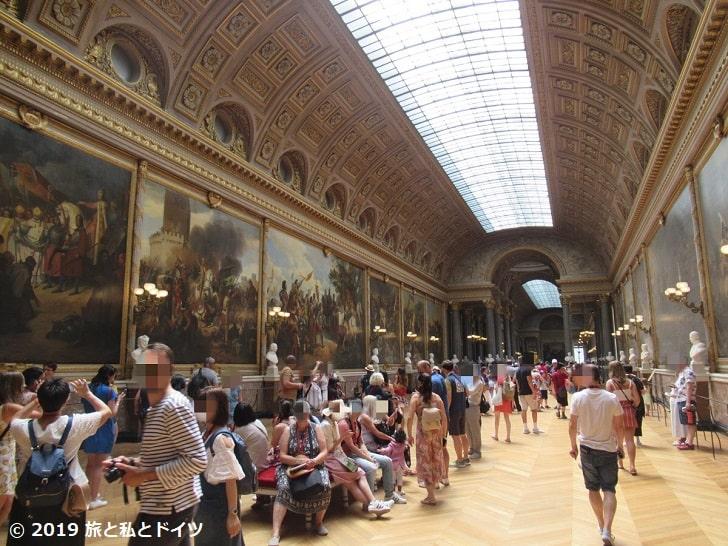 ヴェルサイユ宮殿南翼棟ギャラリー