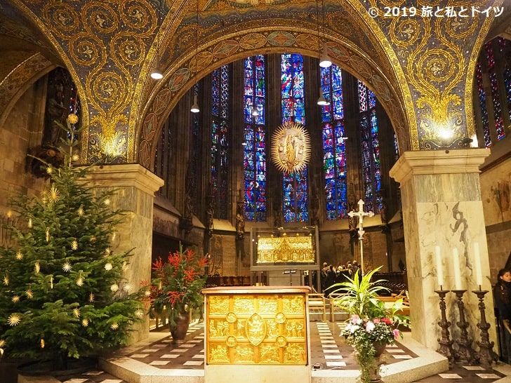 アーヘン大聖堂の祭壇