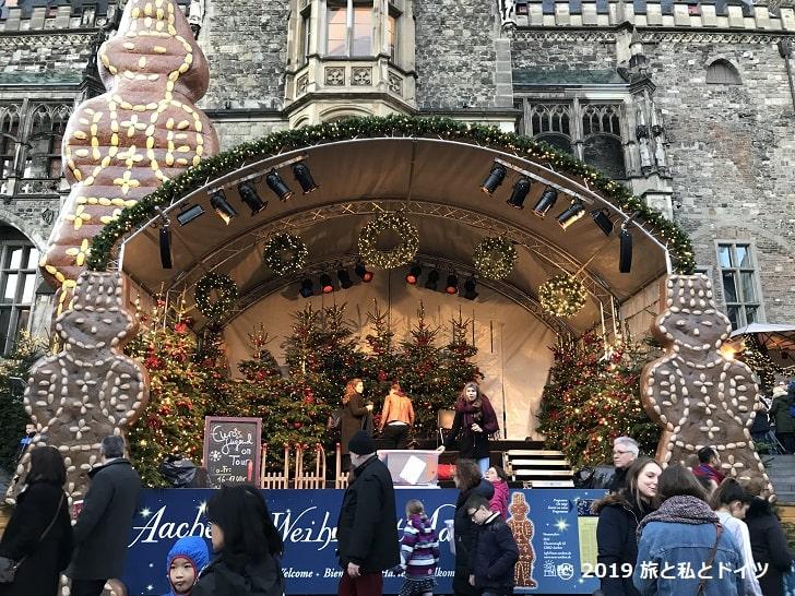 アーヘンのクリスマスマーケット