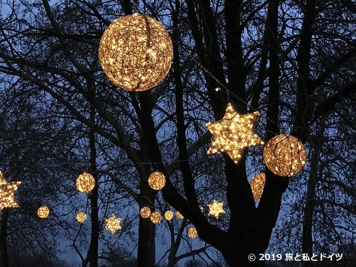 ベンラート城のクリスマスマーケット