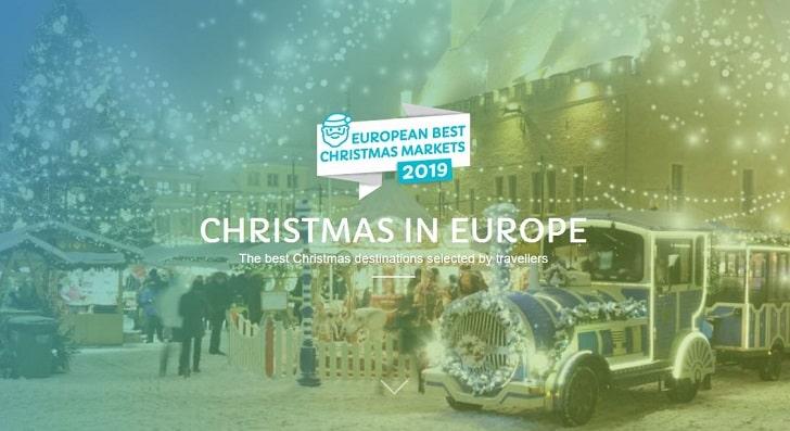 ベストクリスマスマーケット2019 in ヨーロッパ