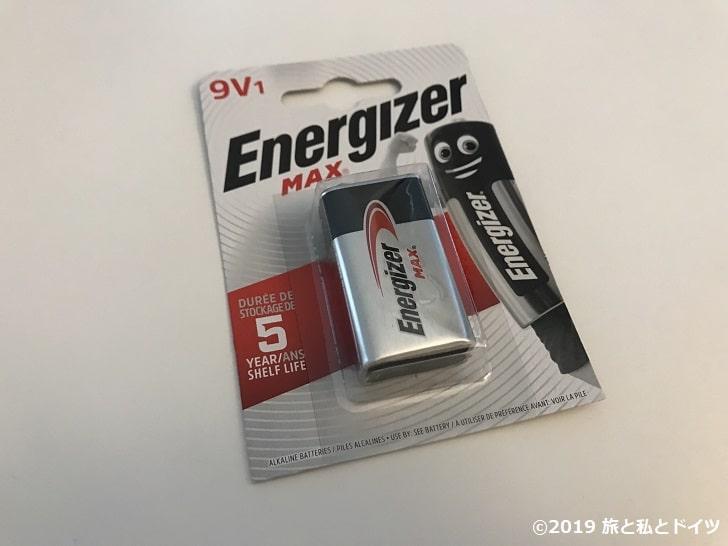 火災探知機の電池