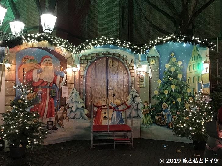 ハウプト通りのクリスマスマーケット