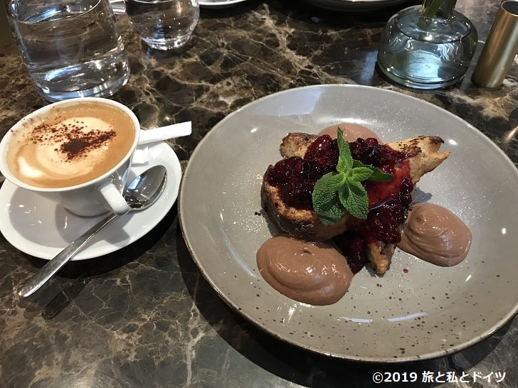 「The Guesthouse Brasserie & Bakery」のメニュー一例
