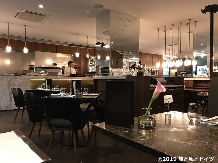「The Guesthouse Brasserie & Bakery」の内装