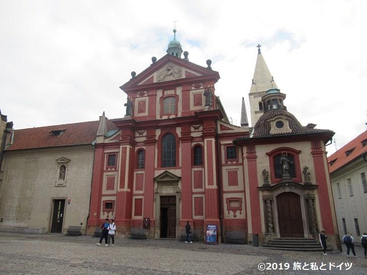 聖イジー教会外観
