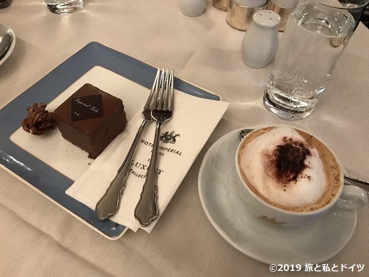 「カフェインペリアル」のインペリアルトルテ