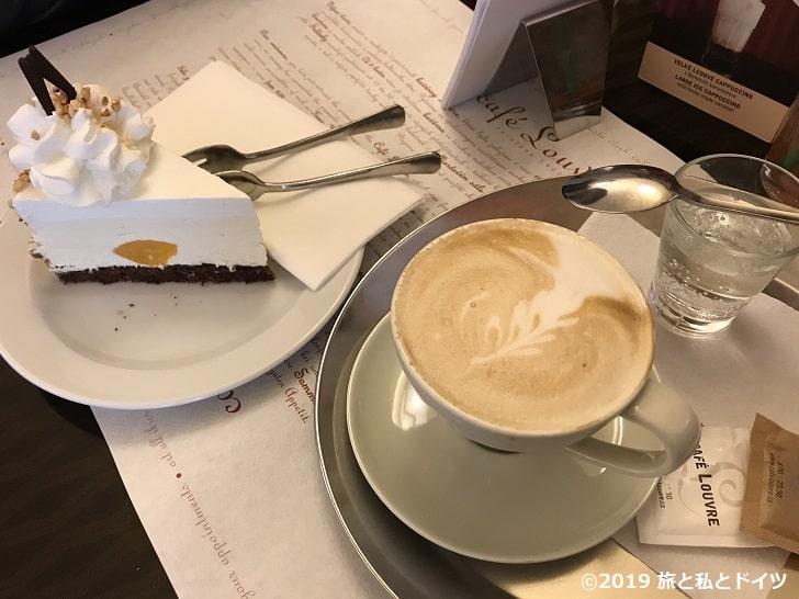 「Cafe LOUVRE」のメニュー一例