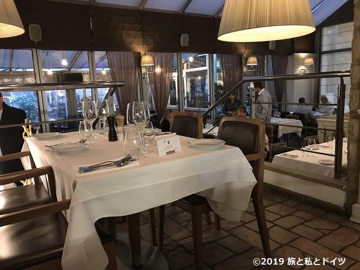 レストラン「Kogo Slovansky Dum」の店内