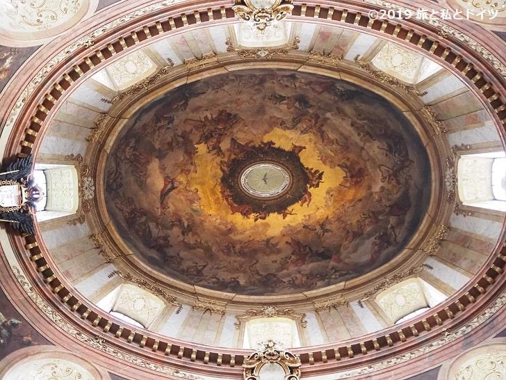 ペーター教会の天井