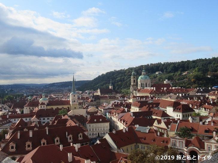 プラハ城からの眺望