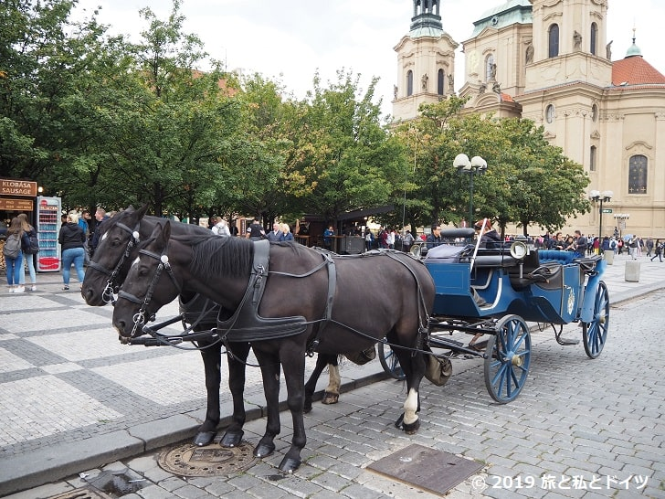 プラハ旧市街風景