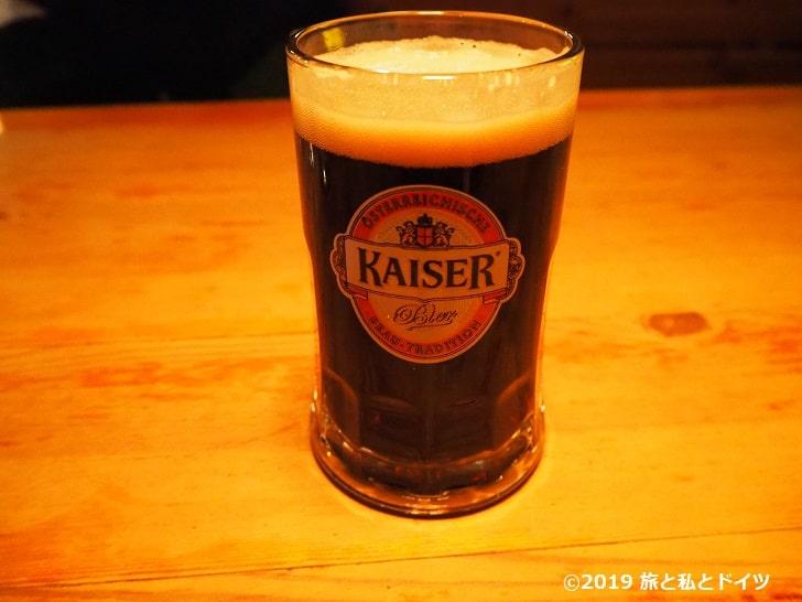 レストラン「Ribs of Vienna」のビール