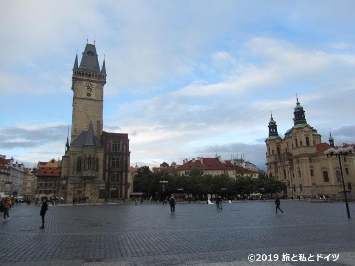 プラハ旧市街広場の風景