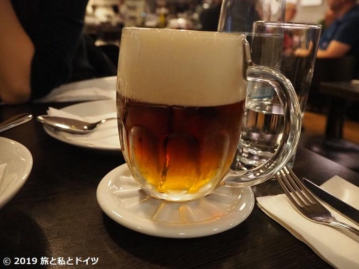 レストラン「U kroka」のビール