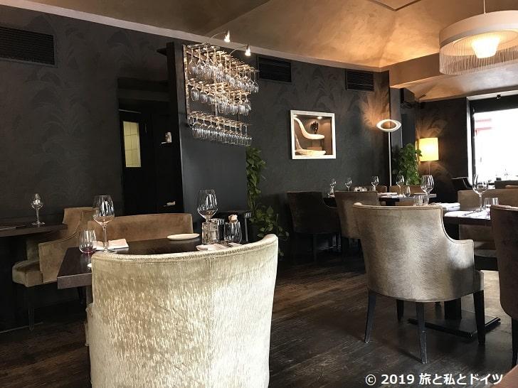 レストラン「V zatisi」の内装