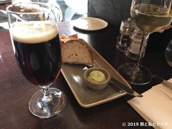 レストラン「V zatisi」のチェコビール