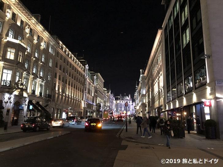 ロンドンの夜景
