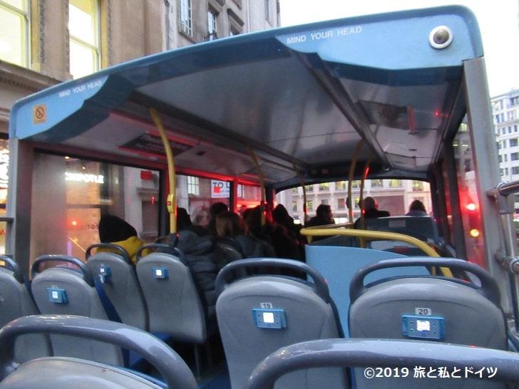 ロンドンのホップオン・ホップオフバス