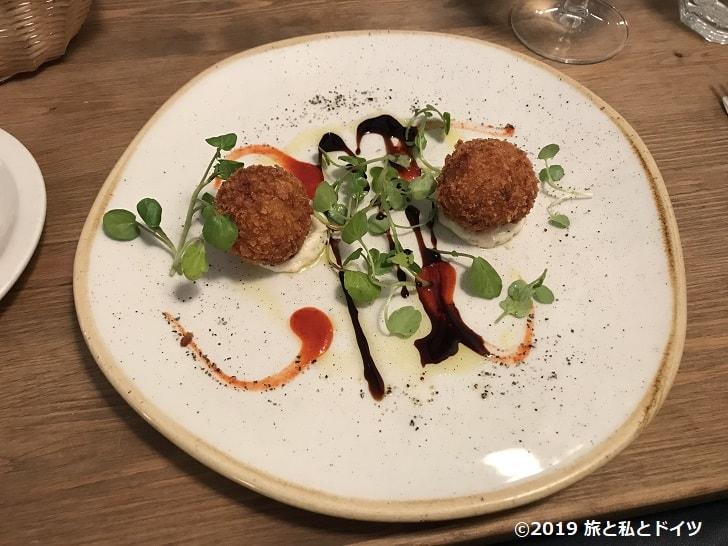 レストラン「Pierre Victore」の前菜