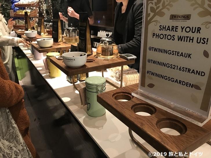 紅茶専門店「TWININGS」