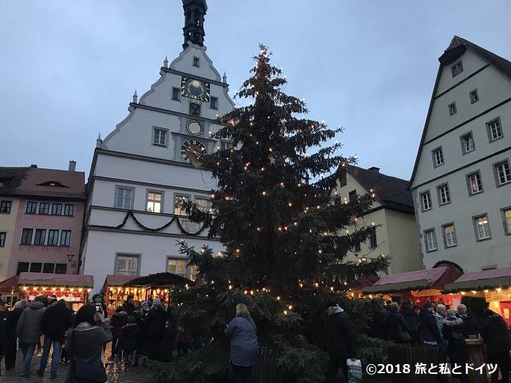 ローテンブルクのクリスマスマーケット16時