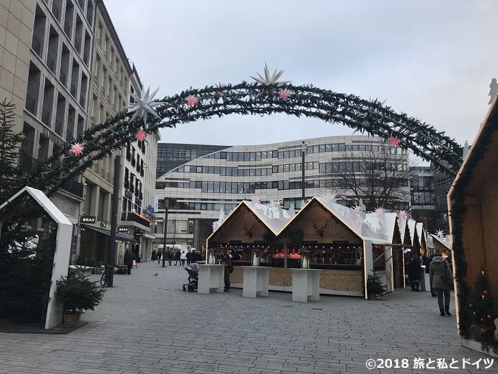 デュッセルドルフのクリスマスマーケット11時半