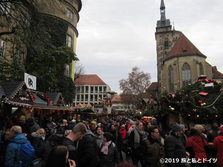 シュトゥットガルトのクリスマスマーケット14時
