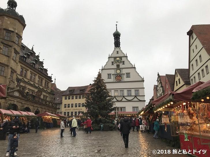 ローテンブルクのクリスマスマーケット15時