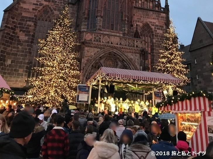 ニュルンベルクのクリスマスマーケット16時