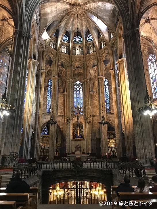 サンタ・エウラリア大聖堂内部
