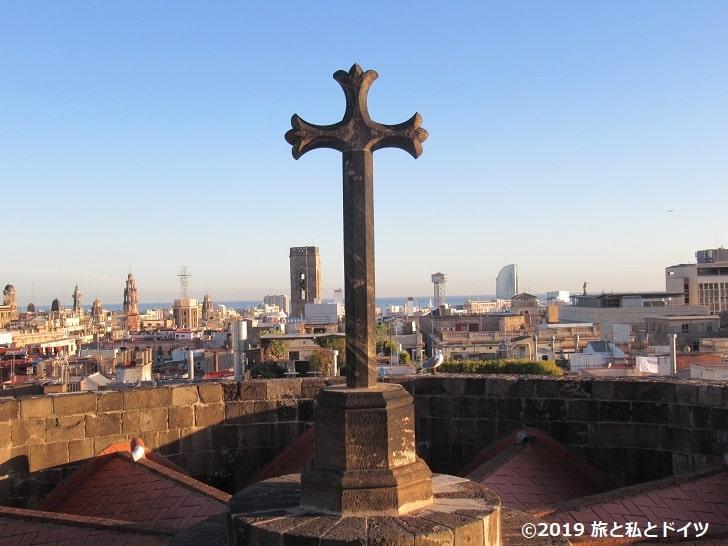 サンタ・エウラリア大聖堂屋上