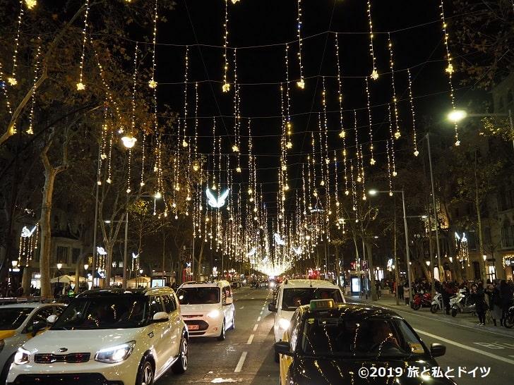 バルセロナの夜景