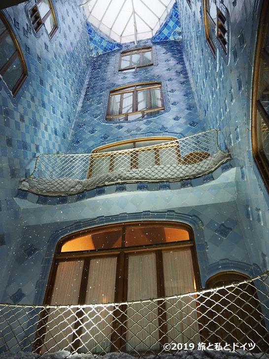 カサ・バトリョの内部見学