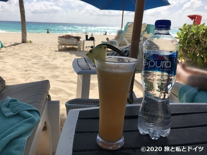 ライブアクアビーチリゾートカンクンnプライベートビーチ