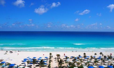 ライブアクアビーチリゾートカンクンのテラスからの眺望