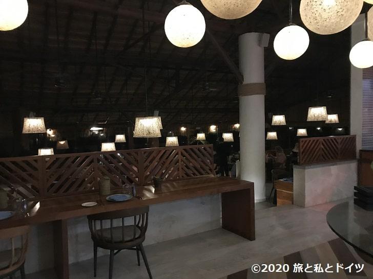 ライブアクアビーチリゾートカンクンのギリシャレストラン