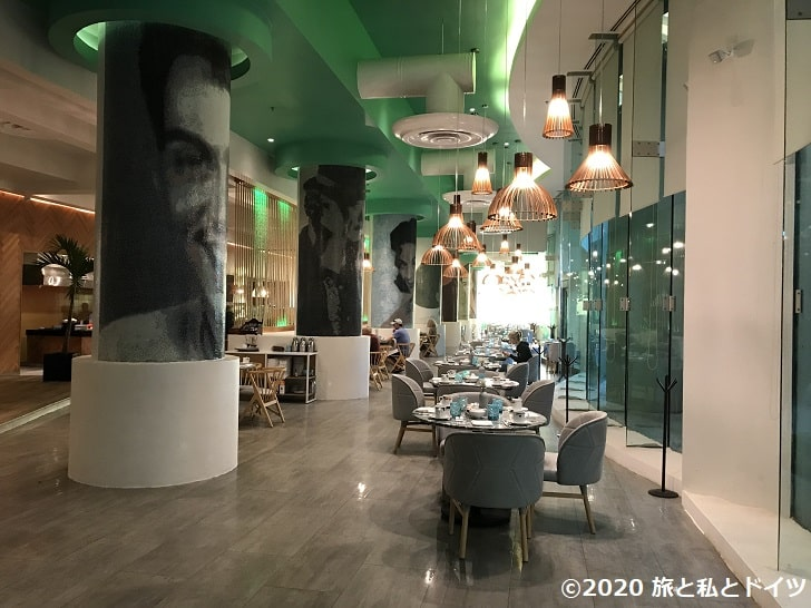 ライブアクアビーチリゾートカンクンの朝食会場