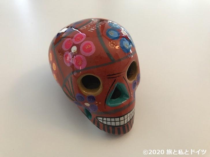 カンクンのお土産の骸骨