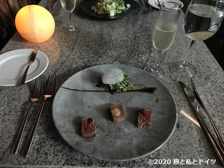 ライブアクアビーチリゾートカンクンのレストラン「mb」