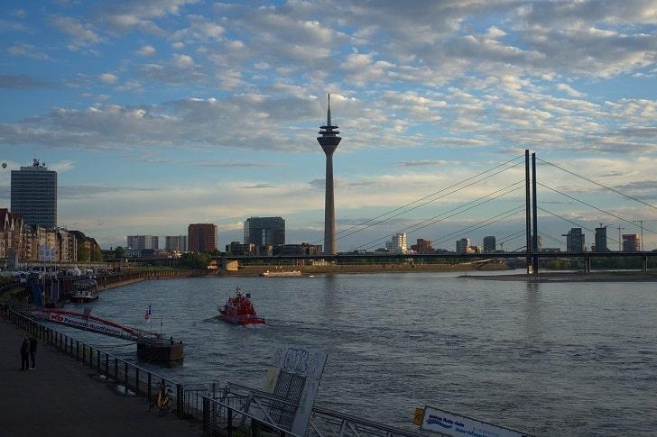 デュッセルドルフの風景