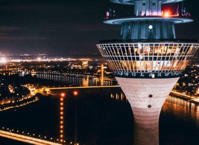 ラインタワーからの眺望