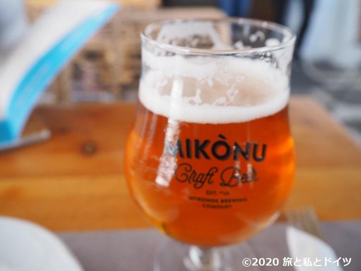 ミコノスのビール